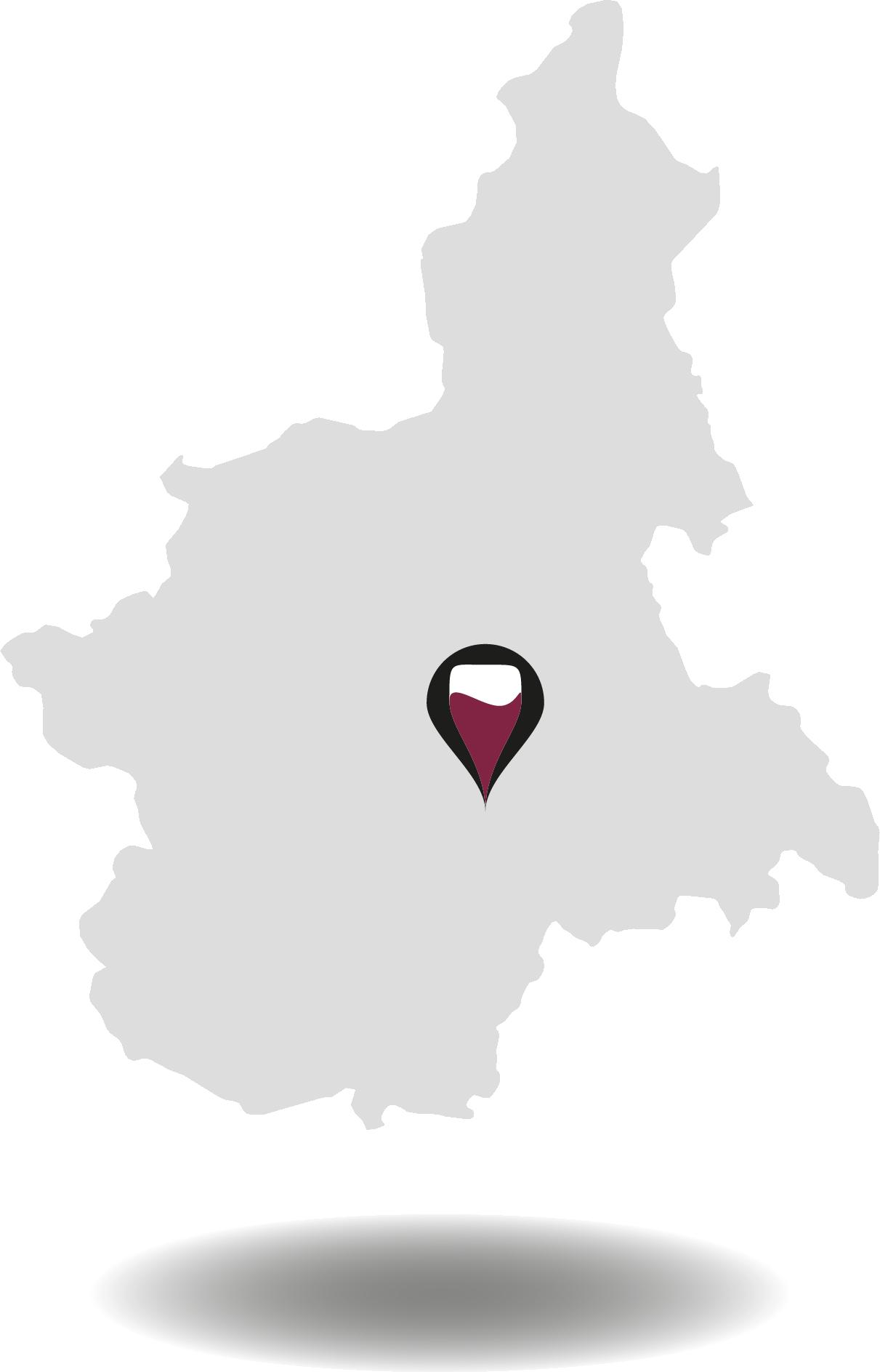 piemonte mappa