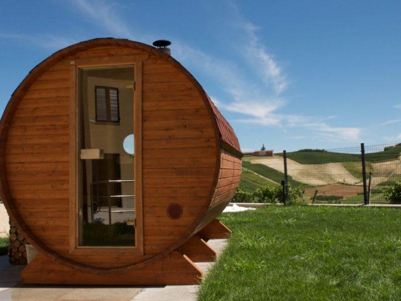 Massucco Wine Wellness - sauna